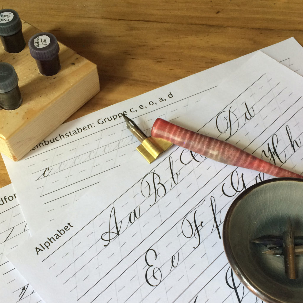 Workshop-Copperplate