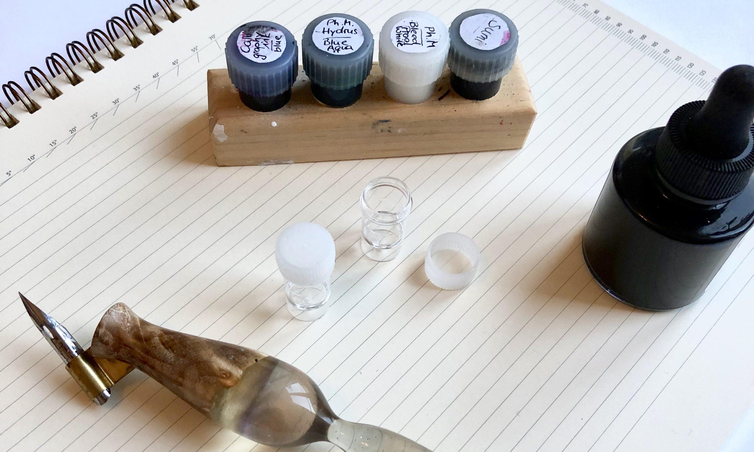 Kalligrafie lernen Material